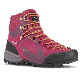 SALEWA Alpenviolet GTX Mid Shoes Women red plum/orange popsicle